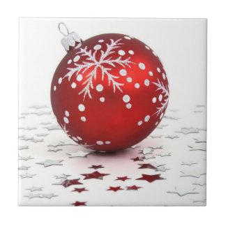 Christmas Ornament Tile Trivet