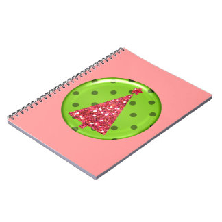 Christmas Ornament Tree Notebook