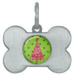 Christmas Ornament Tree Pet Tag