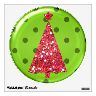 Christmas Ornament Tree Wall Decal