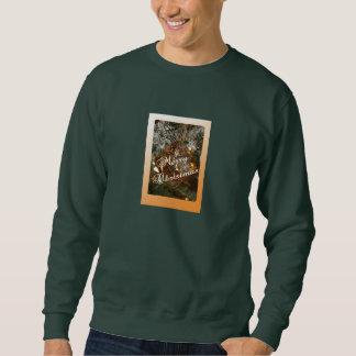 Christmas Ornament w Merry Christmas Text Sweatshirt