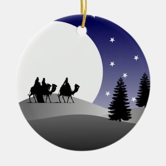 Christmas Ornament - We Three Kings
