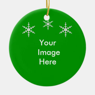 Christmas Ornament: Your Image Here