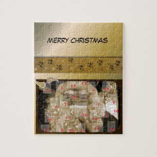 Christmas ornamentations and edgings jigsaw puzzle