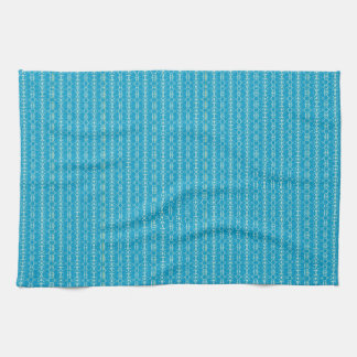 Christmas Ornaments 101 Blue/Mnt Towel
