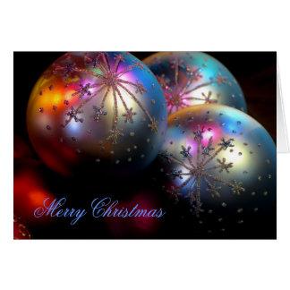 Christmas Ornaments 2011 Card