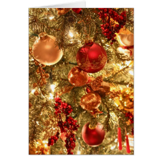 Christmas Ornaments 2 Greeting Cards