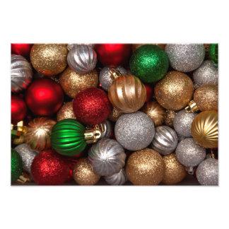 Christmas Ornaments 2 Photo Print