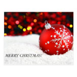 christmas ornaments 3, MERRY CHRSTMAS! Postcards
