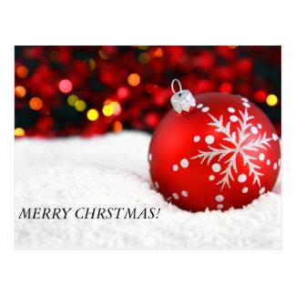 christmas ornaments 3, MERRY CHRSTMAS! Postcards