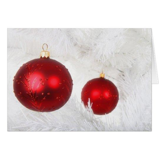 Christmas Ornaments 7 Card