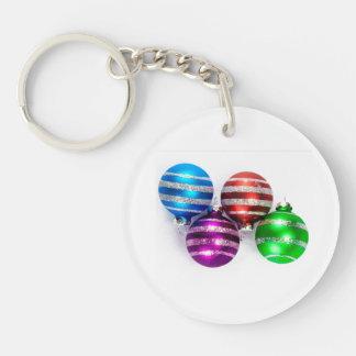 Christmas Ornaments Acrylic Keychain