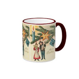 Christmas Ornaments Come ALIVE ! Ringer Mug