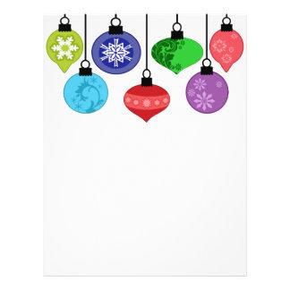 Christmas Ornaments Flyer