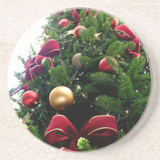 Christmas Ornaments Holiday Tree Destiny Gifts Drink Coasters