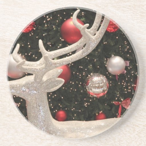 Christmas Ornaments Holiday Tree Destiny Gifts Drink Coaster