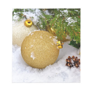 Christmas Ornaments Holiday Tree Destiny Gifts Memo Note Pad