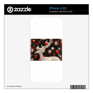 Christmas Ornaments Holiday Tree Destiny Gifts iPhone 4S Skins