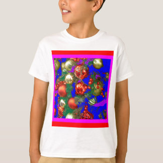 Christmas Ornaments in Holiday Design by Sharles T-Shirt
