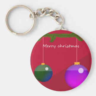 Christmas Ornaments Keychain