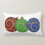 "Christmas Ornaments Lumbar Pillow<br><div class=""desc"">Christmas Ornaments</div>"