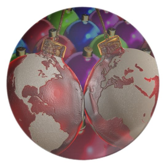 CHRISTMAS ORNAMENTS OF THE WORLD PLATES