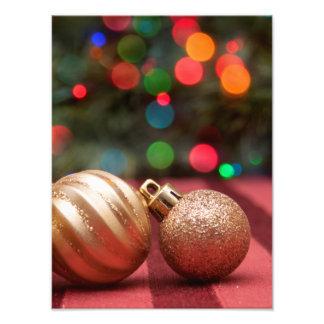 Christmas Ornaments Photo Print