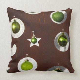 Christmas Ornaments Pillow