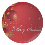 Christmas Ornaments Plate