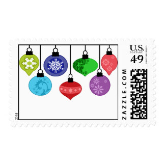 Christmas Ornaments Postage