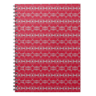 Christmas Ornaments Red Photo Notebook 80 pages