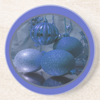Christmas Ornaments Sandstone Coaster