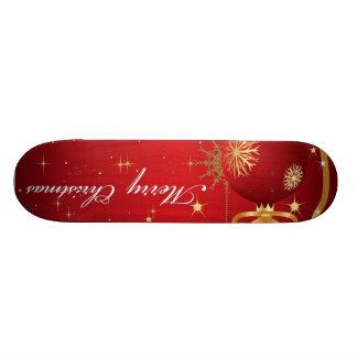 Christmas Ornaments Skateboard