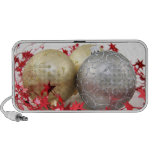 Christmas Ornaments Sparkle Mp3 Speakers