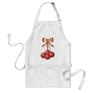 Christmas Ornaments with bow Apron