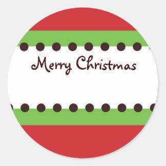 Christmas Orniment Gift Sticker