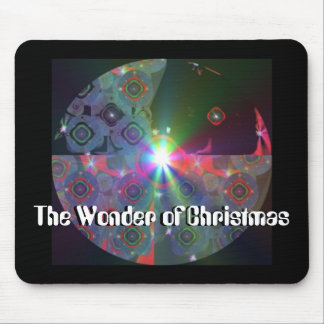 Christmas Orniment Made Of Light Mouse Pad