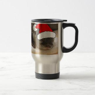 Christmas Otter 15 Oz Stainless Steel Travel Mug