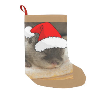Christmas Otter Small Christmas Stocking