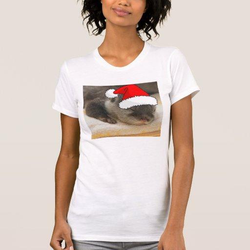 Christmas Otter Tshirt