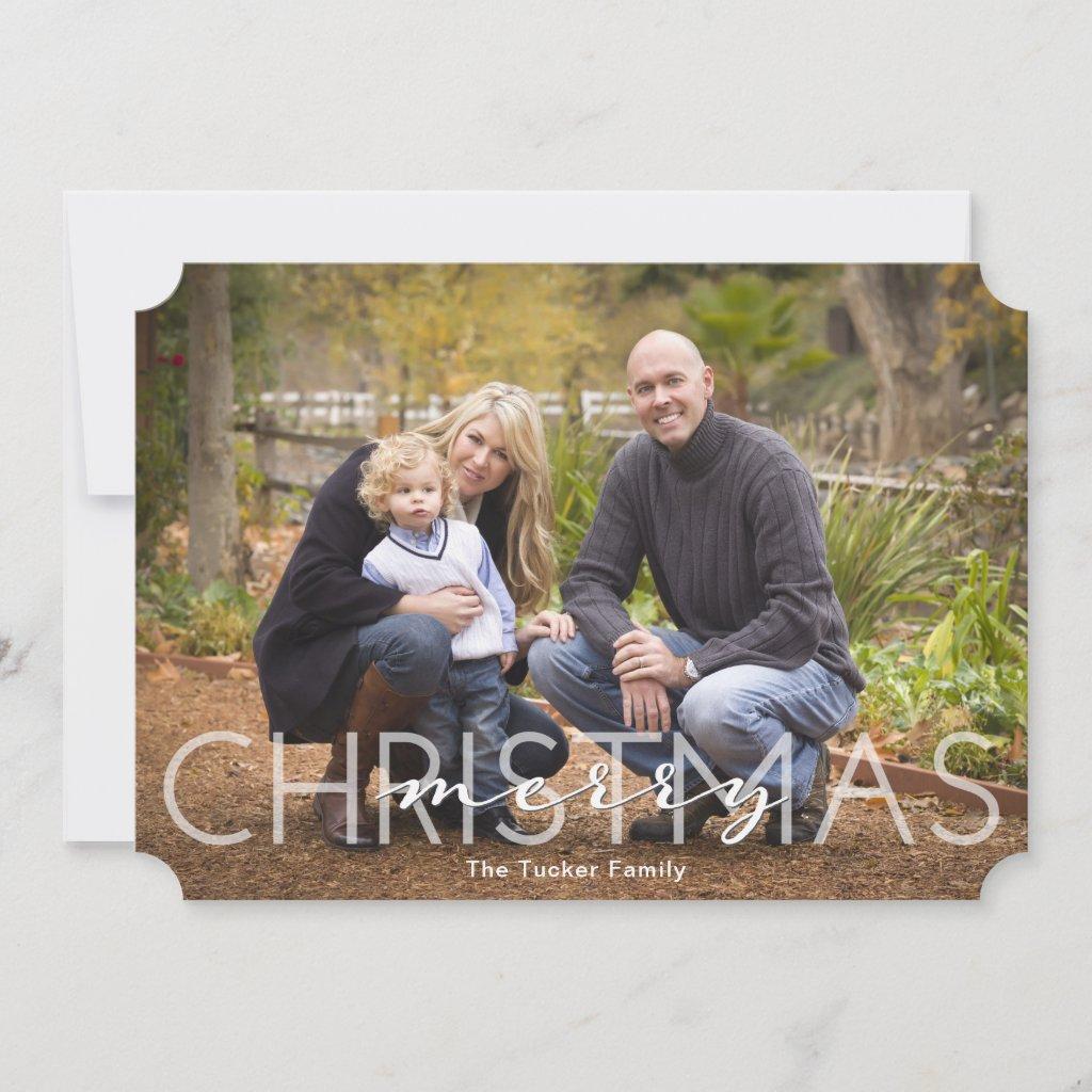 Christmas Overlay Full-Photo Card