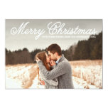 "CHRISTMAS OVERLAY | HOLIDAY PHOTO CARD 5"" X 7"" INVITATION CARD"