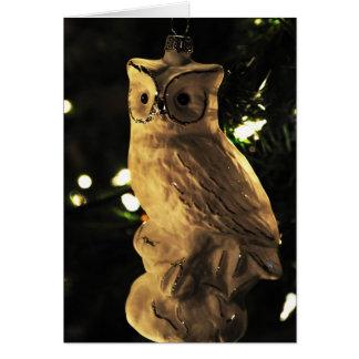 Christmas Owl Card