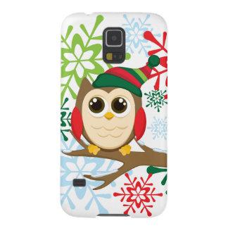 Christmas owl galaxy nexus cases