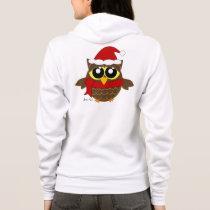 Christmas Owl Hoodie