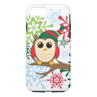 Christmas owl iPhone 7 case