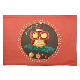 Christmas Owl Placemat