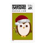 Christmas Owl Postage