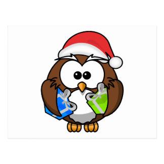 Christmas Owl Postcards