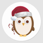 Christmas Owl Stickers